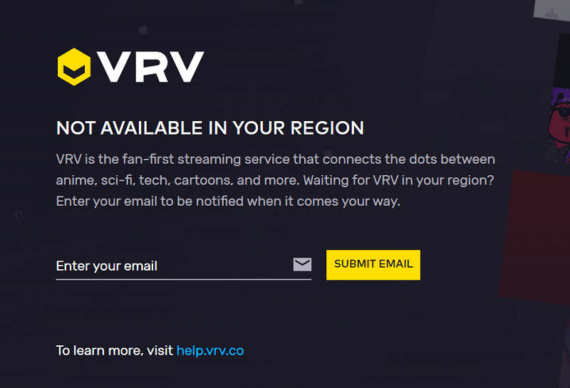 VRV not working