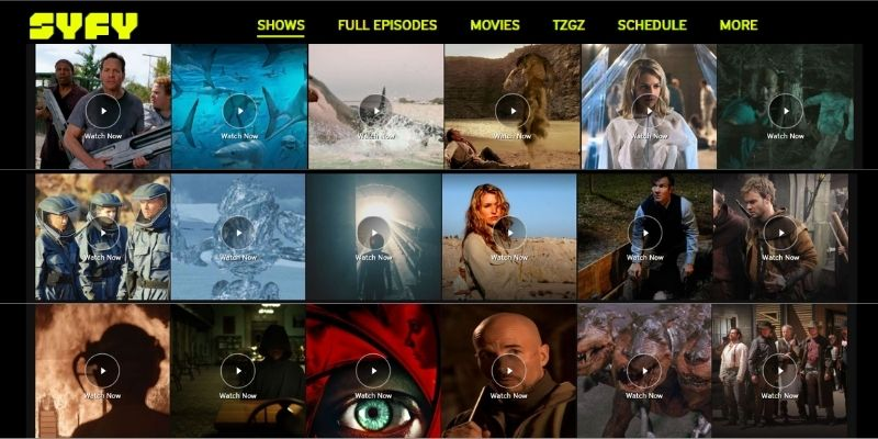 what can i watch on Syfy