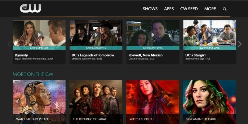what's on CW Canada