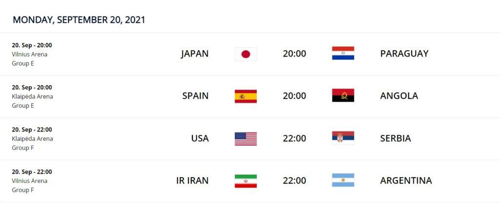 Sept 20 FIFA Futsal WC 2021